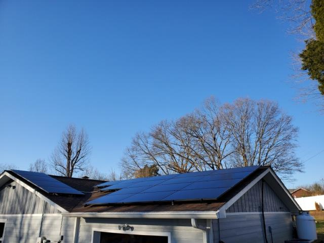Morristown, TN - 6kW future solar system install in Morristown TN!  GO GREEN~