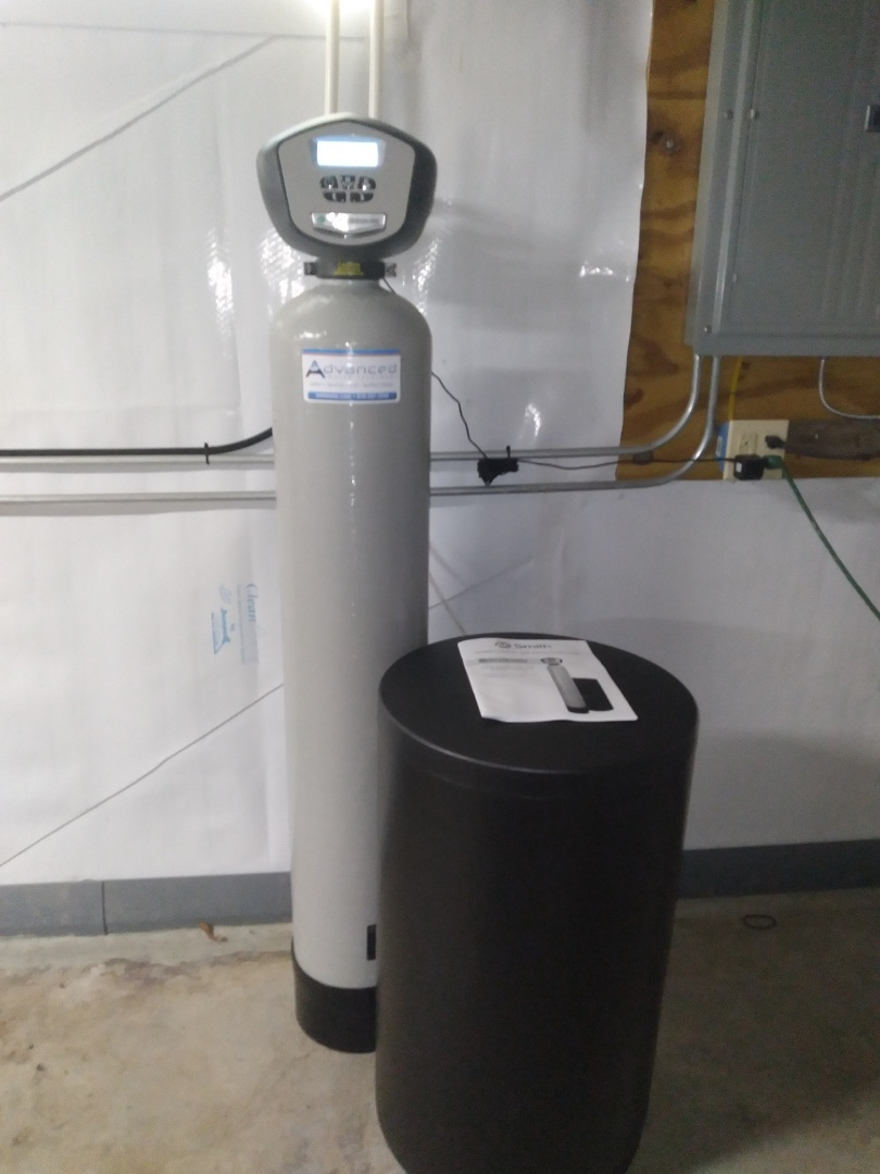 City water softener install