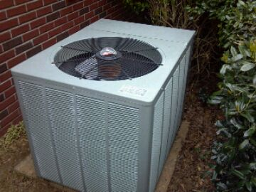 Preventive maintenance.  Rheem heat pump.
