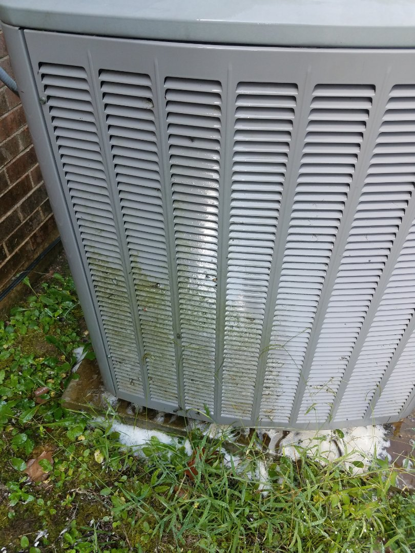Pike Road, AL - Cleaning condenser