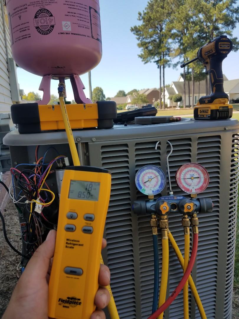 Millbrook, AL - Charging system after compressor changeout