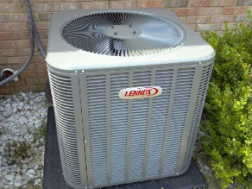 Service on Lennox Heat Pump