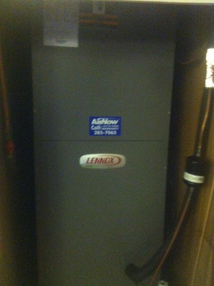 Millbrook, AL - service done on a Lennox heatpump
