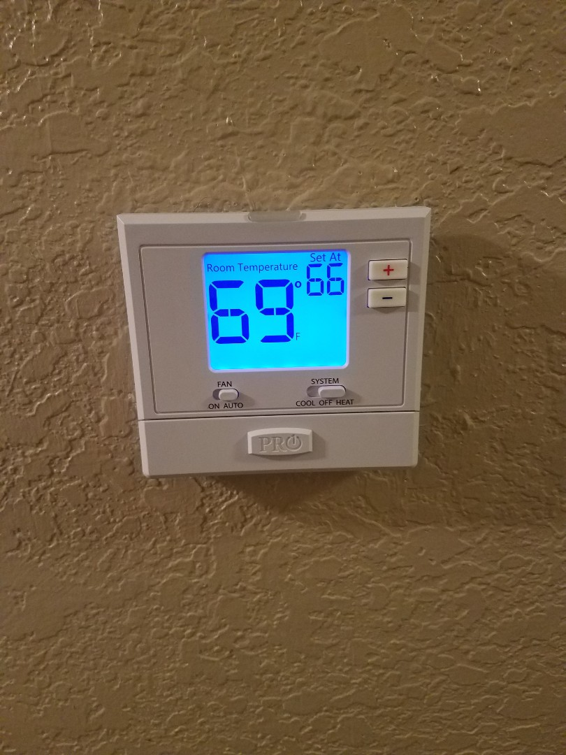 Montgomery, AL - Installed new thermostat in Montgomery