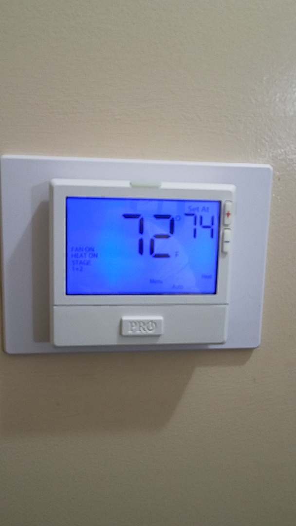 Installed new thermostat in Wetumpka