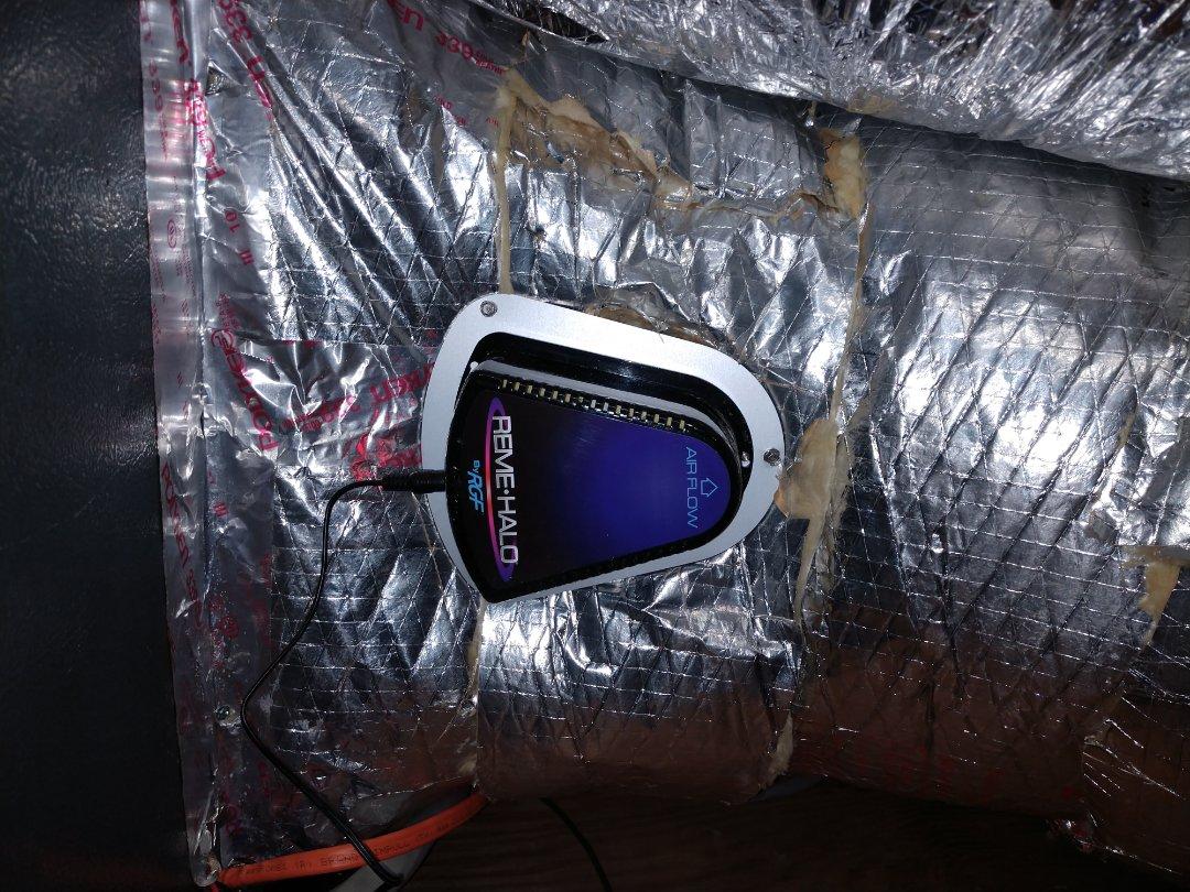 Install Reme Halo air purifier.
