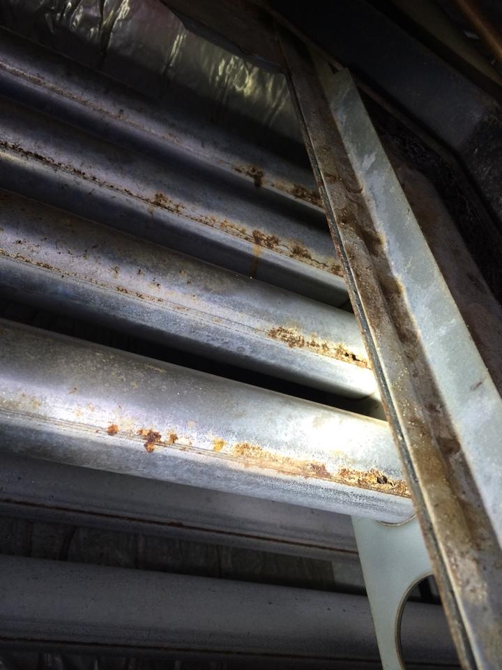 Montgomery, AL - Maintenance on a gas furnace in Montgomery . Found cracked heat exchanger