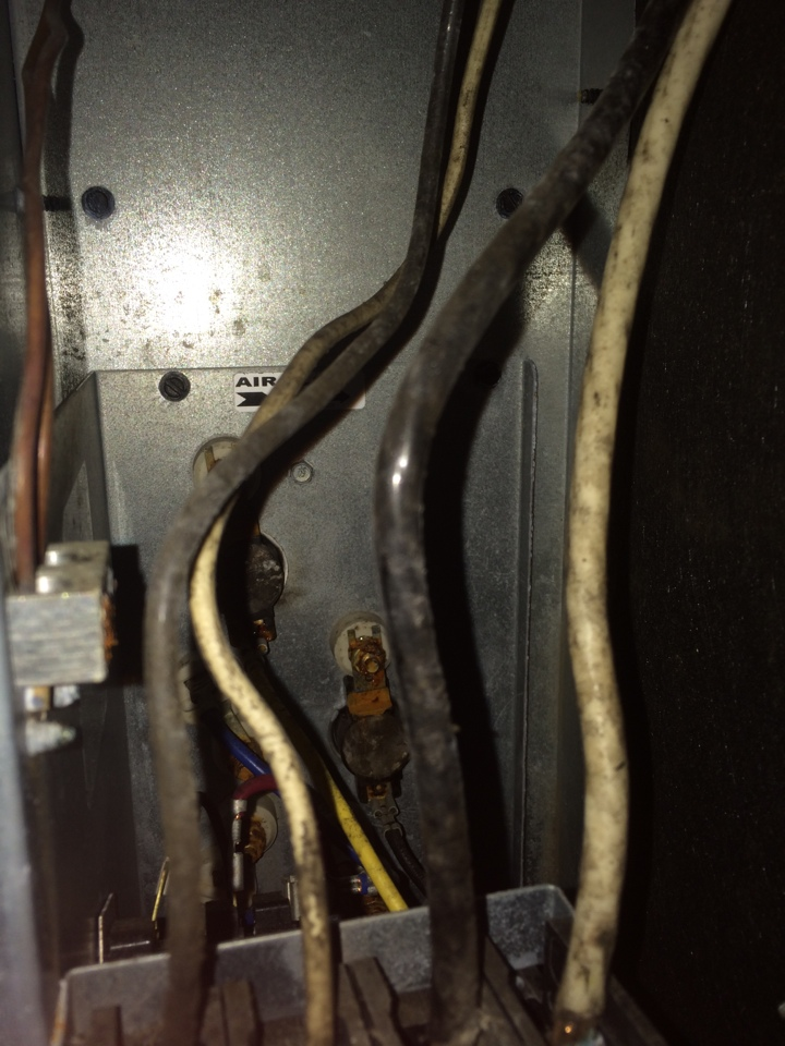 Montgomery, AL - Tune up on heat pump in prattville and duct inspection found mold and mildew