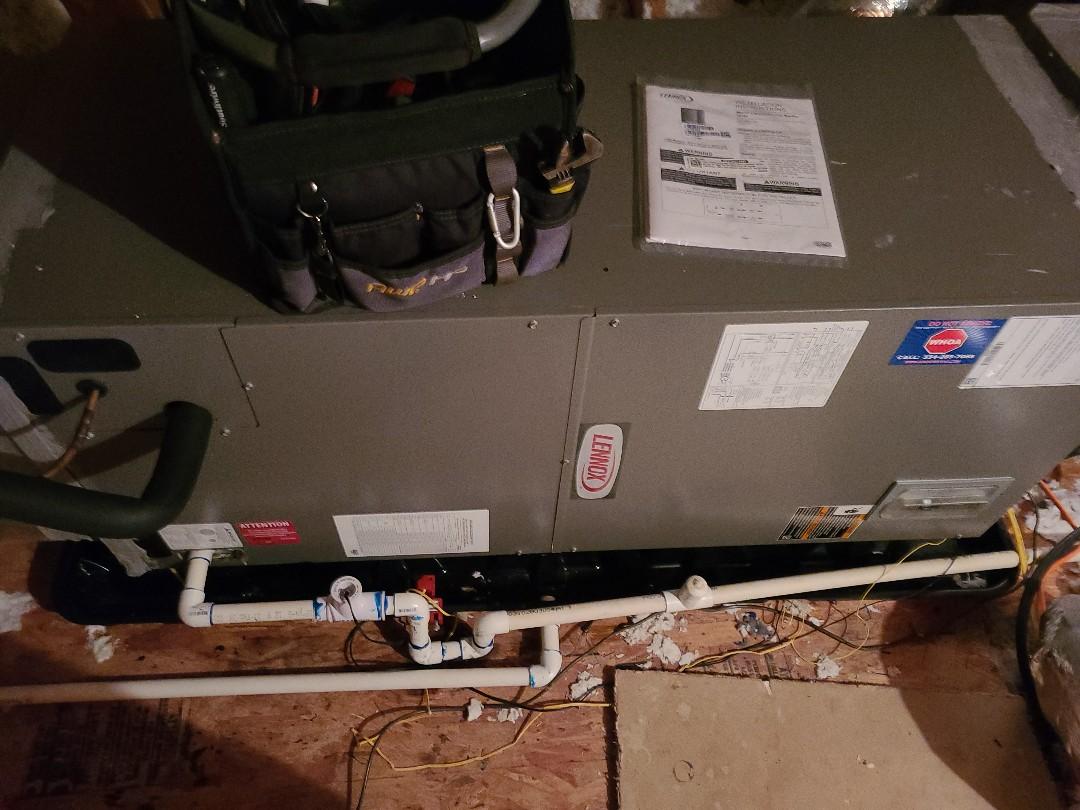 Heat pump inspection
