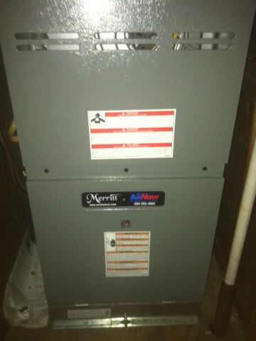 maintenance done on ac heatpump