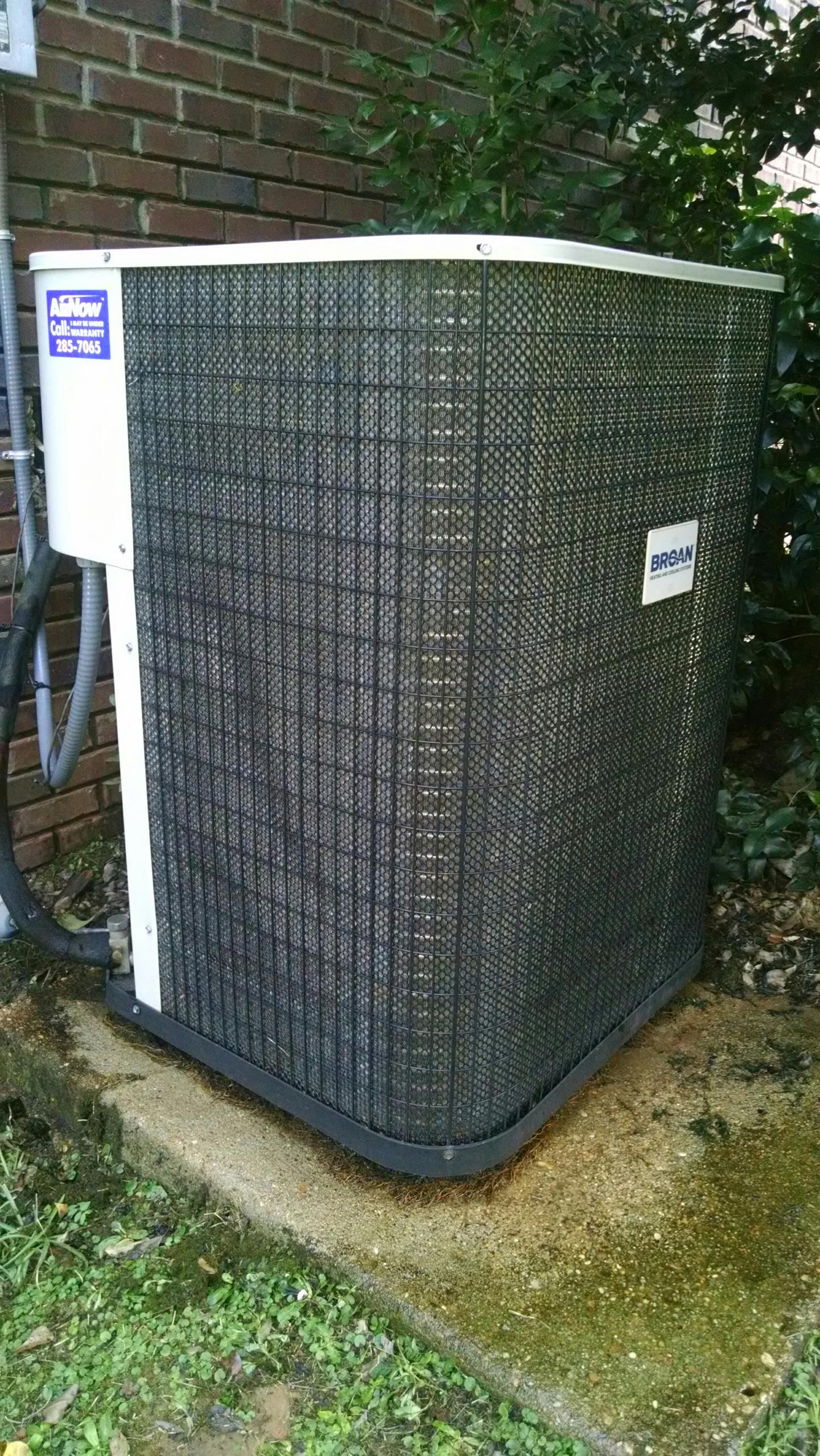 Deatsville, AL - Home Sale Inspection of 4 yr old Broan Heat pump