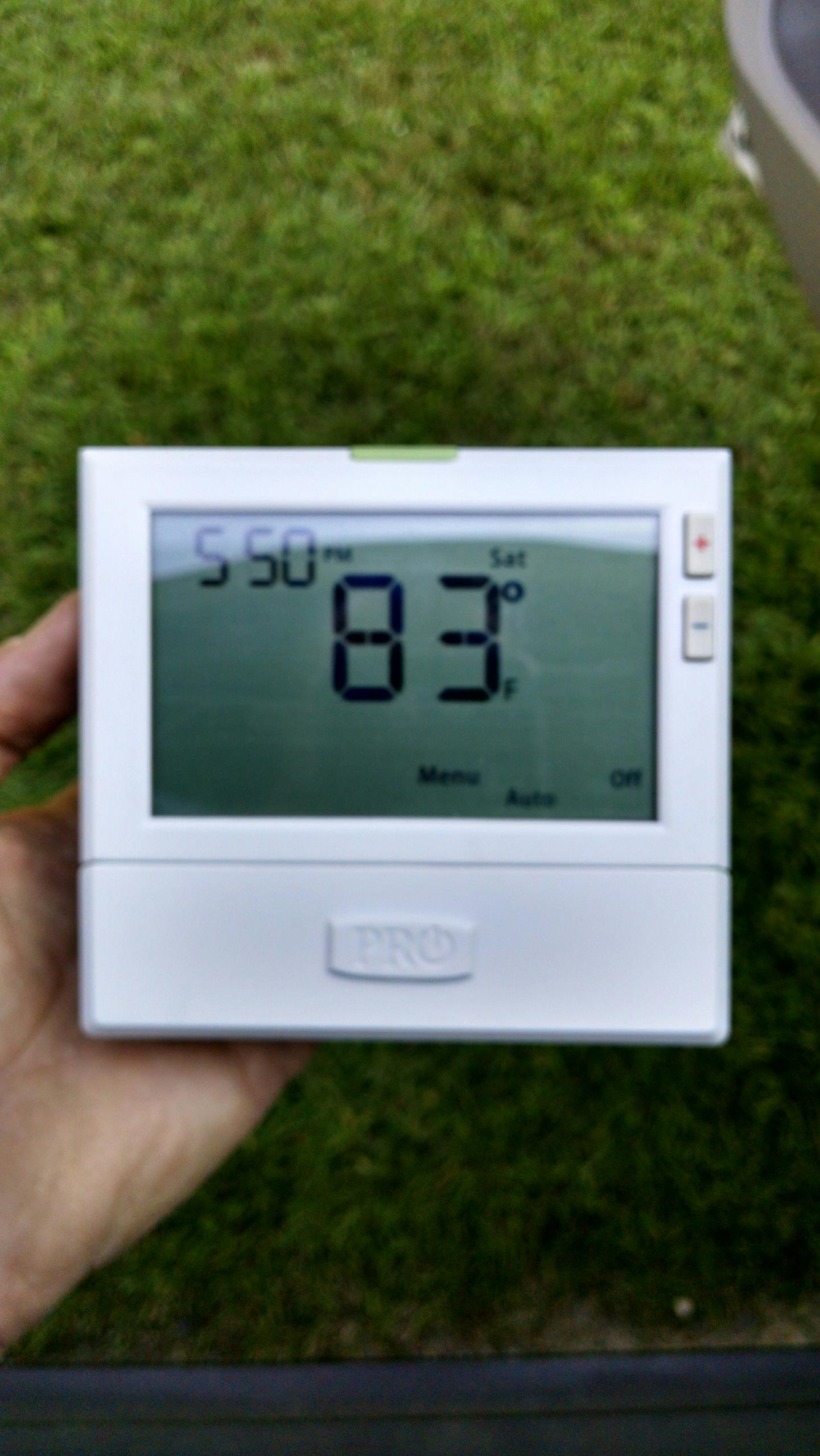 Verbena, AL - Replace faulty thermostat on a Nordyne heat pump