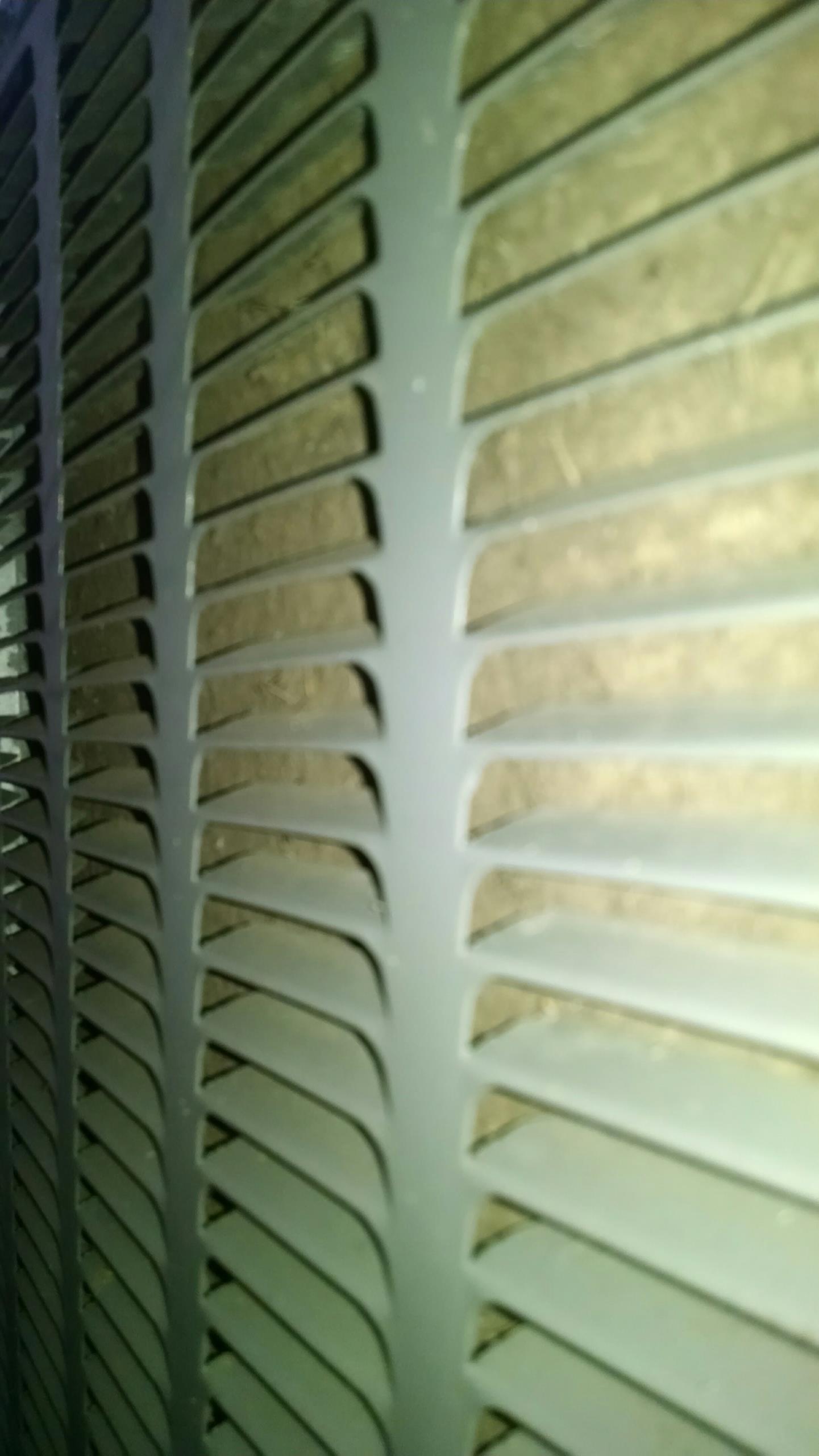 Montgomery, AL - Clean condenser coil on Amana heat pump air conditioner ASX130361 410a system