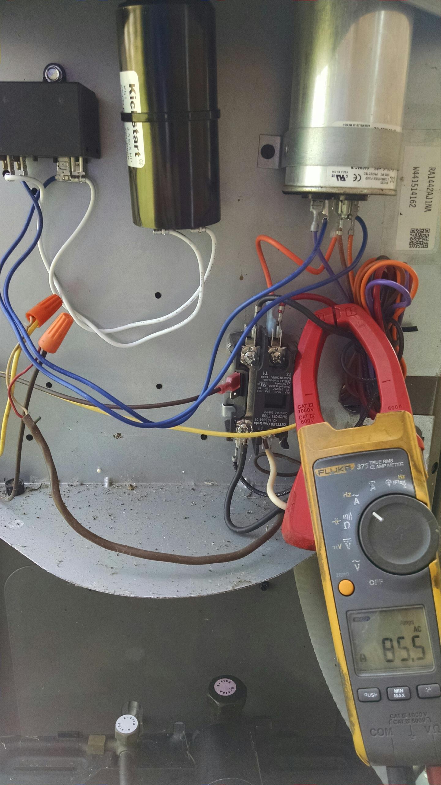 Add Start Assist Kit, Kickstarter to Rheem heat pump