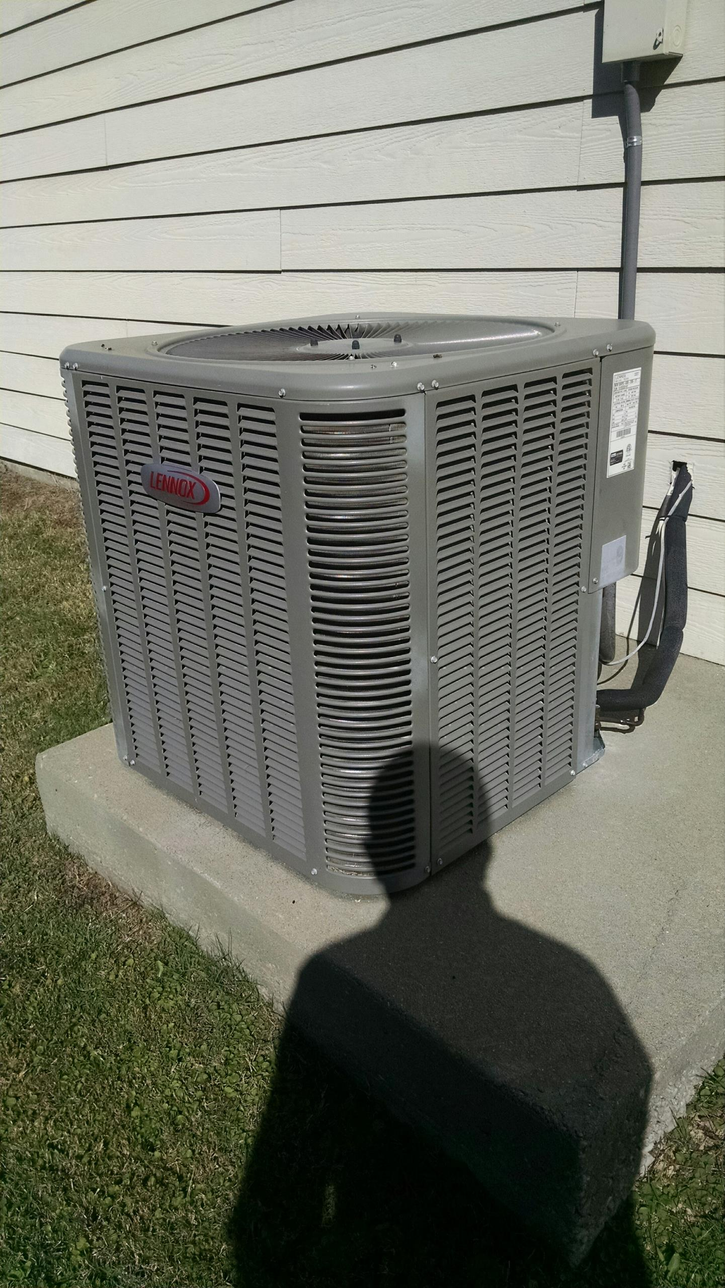 Montgomery, AL - Fall checkup completed on 5 years old Lennox heat pump