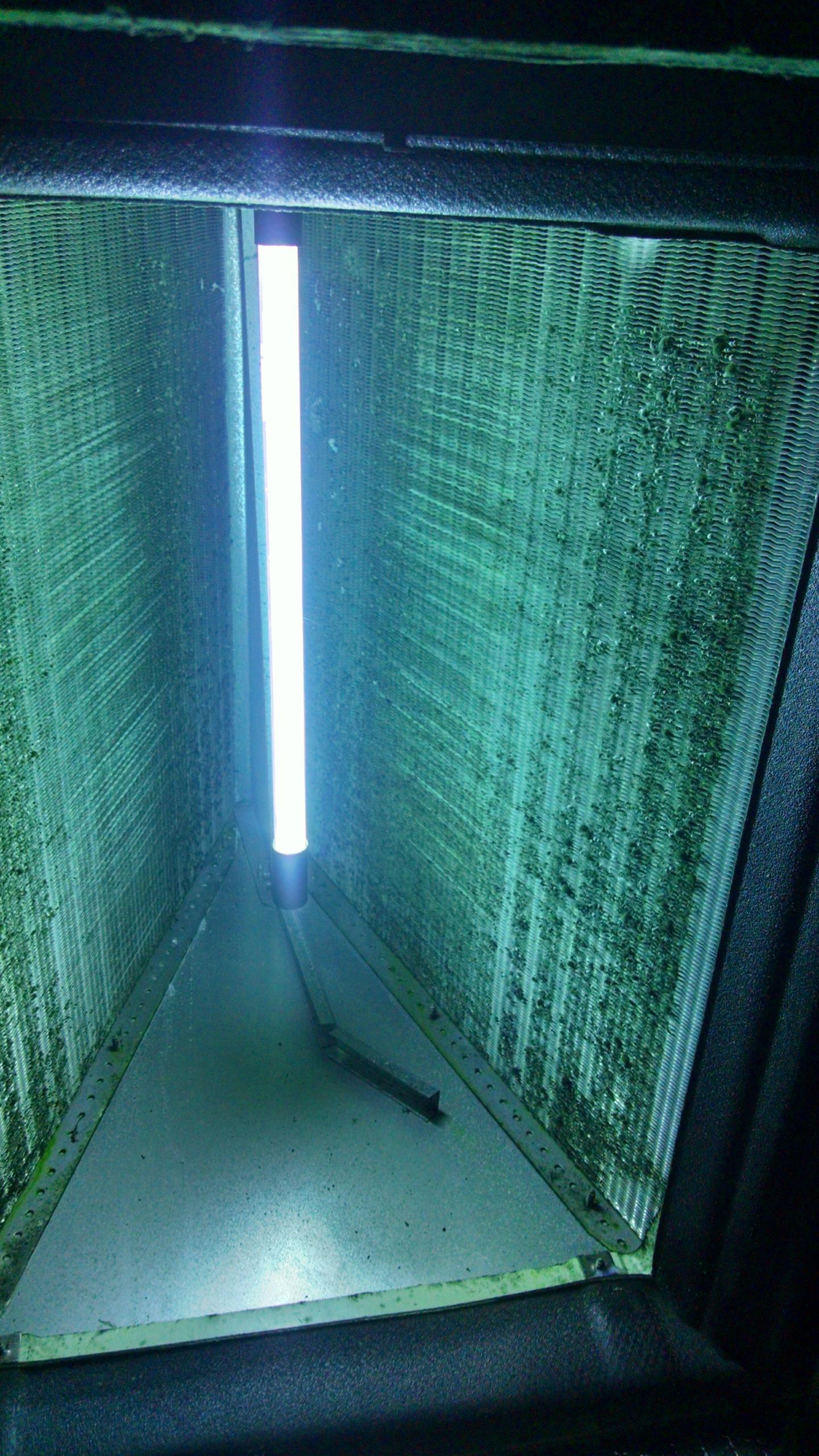 Install RGF BLU UV Coil Light in Lennox evaporator coil