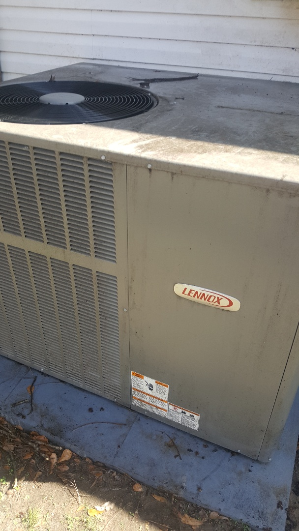 Lennox package unit in milbrook