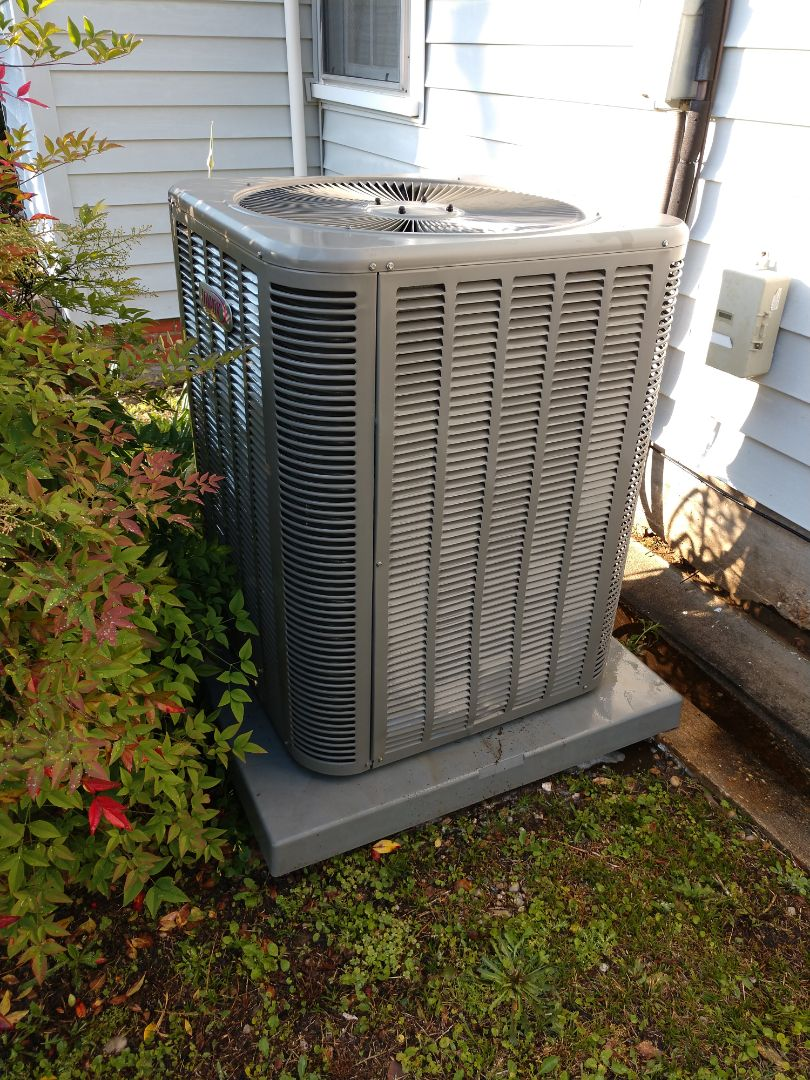 Spring Super Tune up on a Lennox air conditioner and furnace in Wetumpka, AL