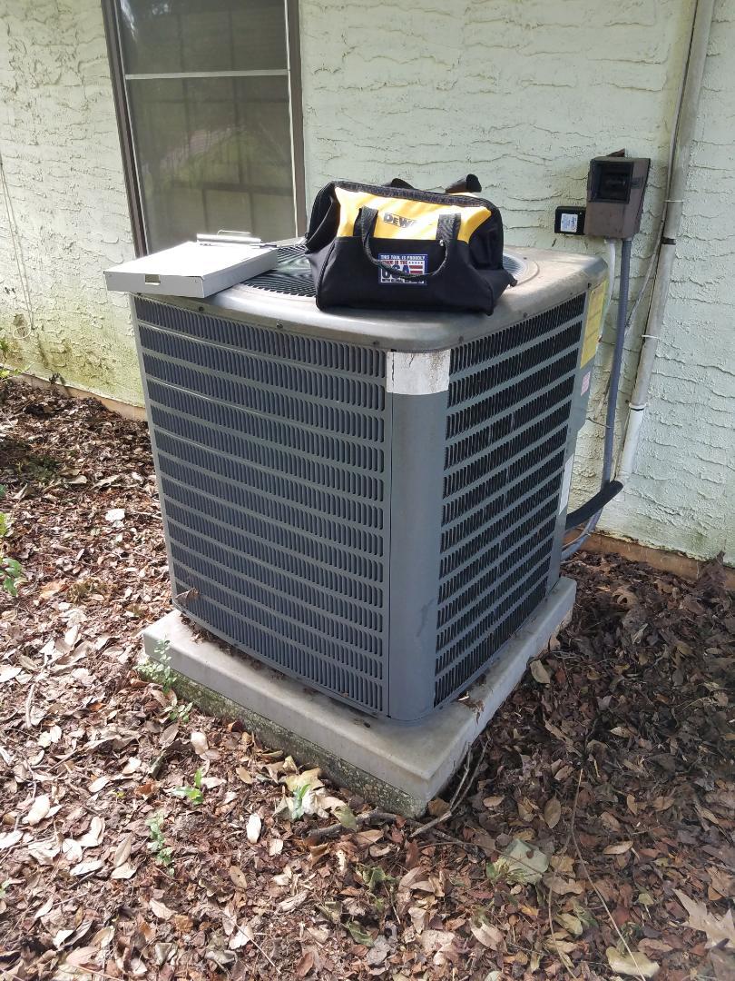 Goodman heat pump air conditioning maintenance in Montgomery