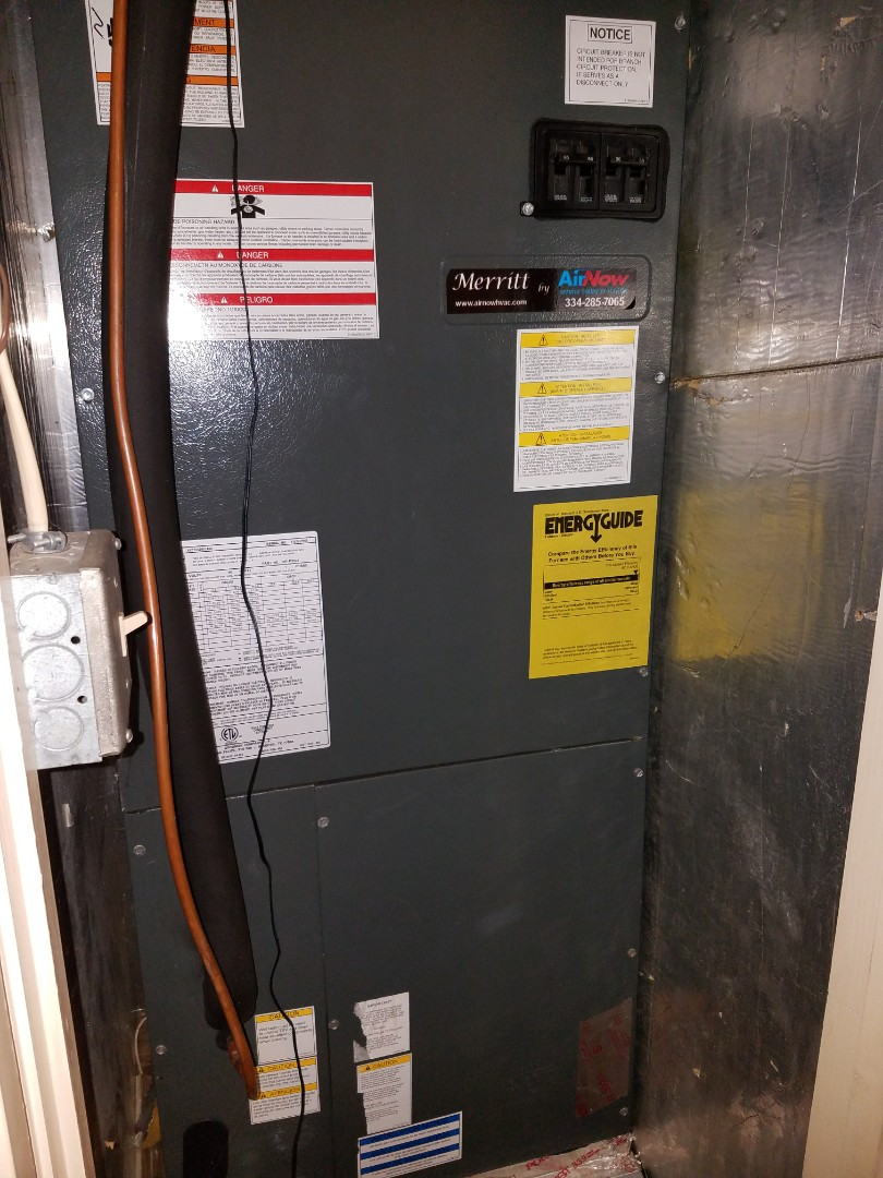 Goodman air handler air conditioning maintenance in Montgomery