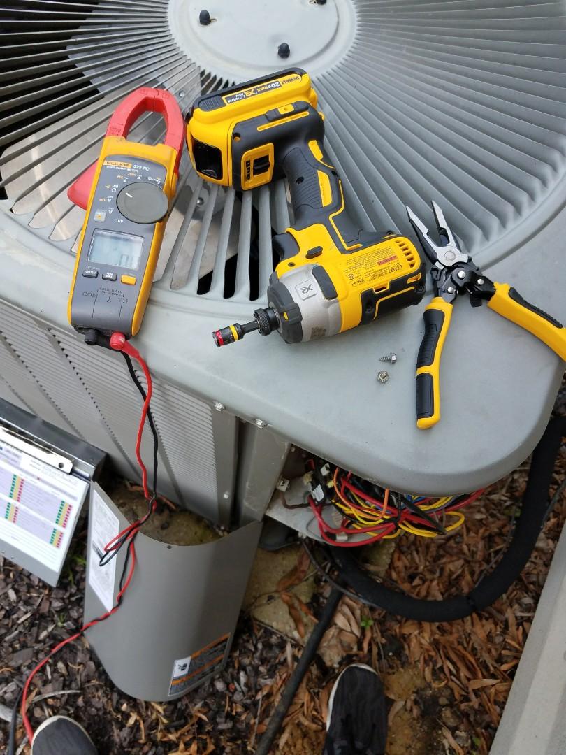 Goodman condenser air conditioning maintenance in Montgomery