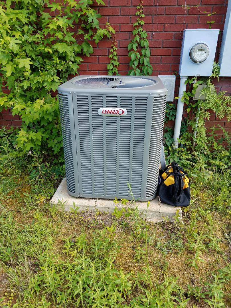 Lennox condenser air conditioning maintenance in Millbrook