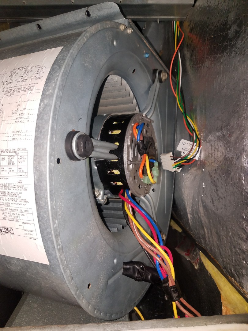 Removing temp motor in Troy