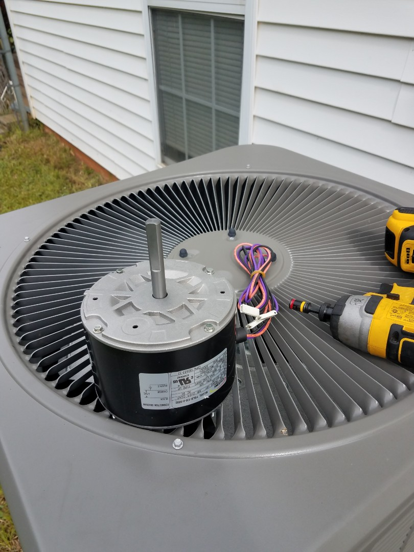 Eclectic, AL - Installed OEM condenser fan motor in Eclectic