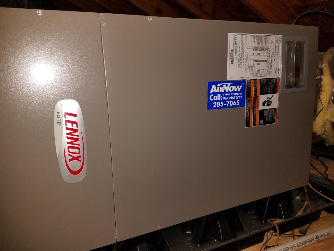 Lennox air handler air conditioning maintenance in Equality