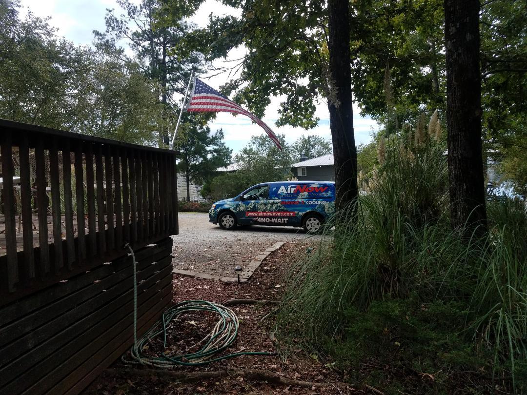 Dadeville, AL - Air conditioning maintenance on Goodman unit in Dadeville