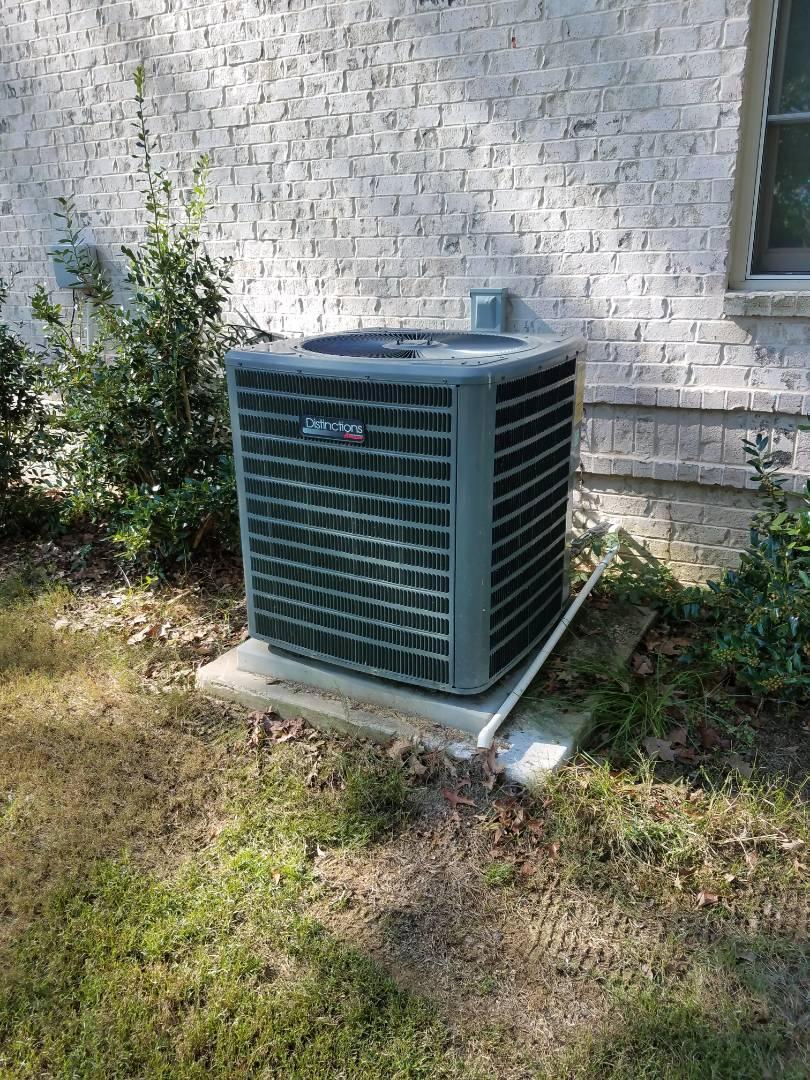Deatsville, AL - Checking outdoor unit