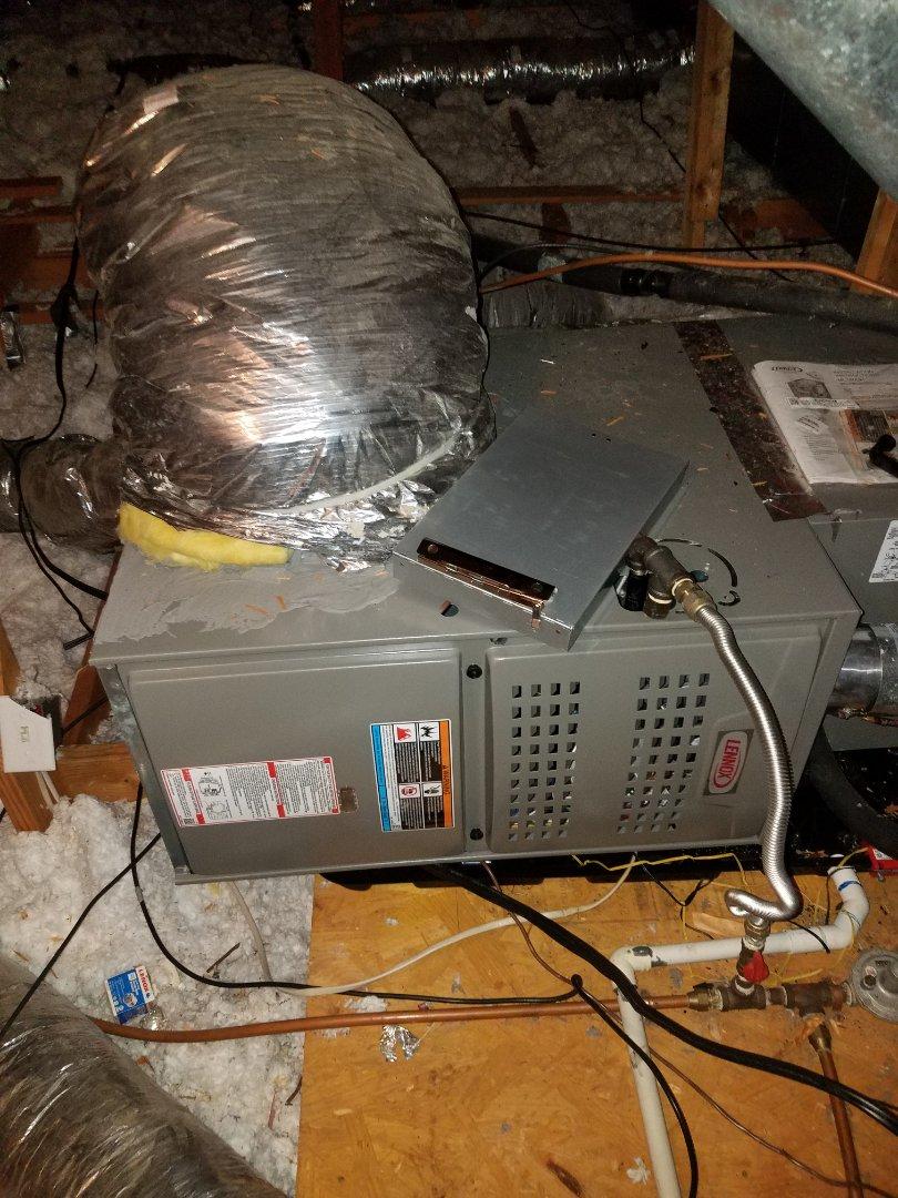 Deatsville, AL - Lennox furnace heating and cooling maintenance in Deatsville