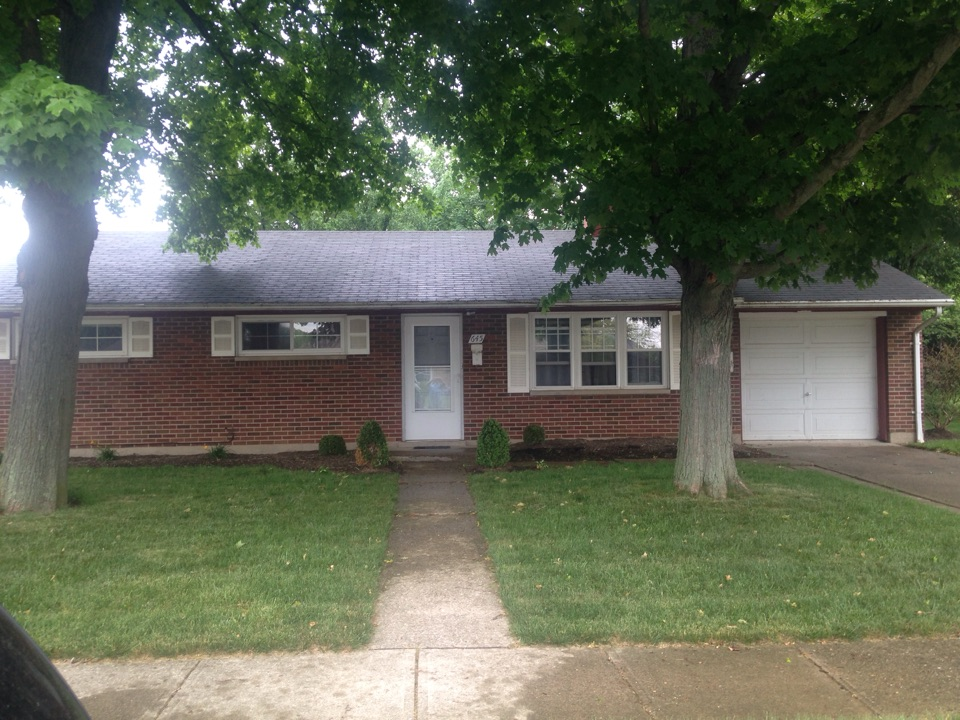 Vandalia, OH - Before picture of siding job I am doing next week with soffit and gutters also