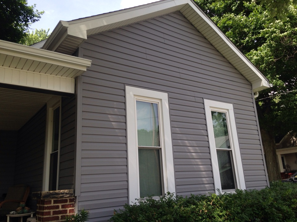 Xenia, OH - Siding soffit gutters and fascia metal in xenia