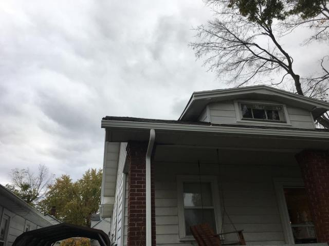 Springboro, OH - New gutters and gutter guards
