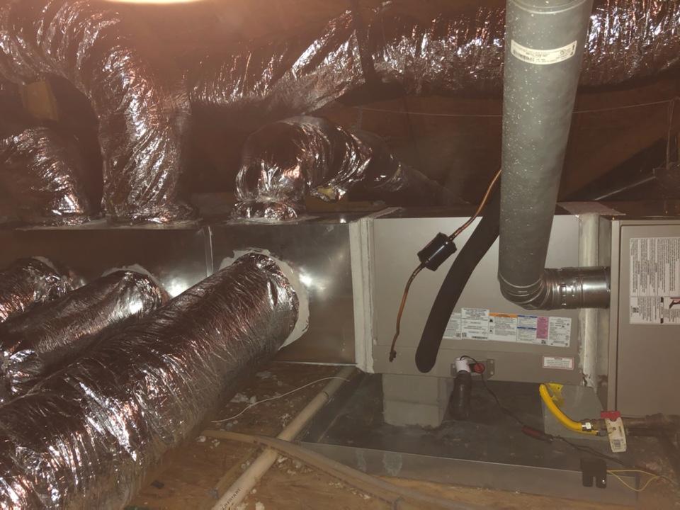 Gonzales, LA - Installed gas system