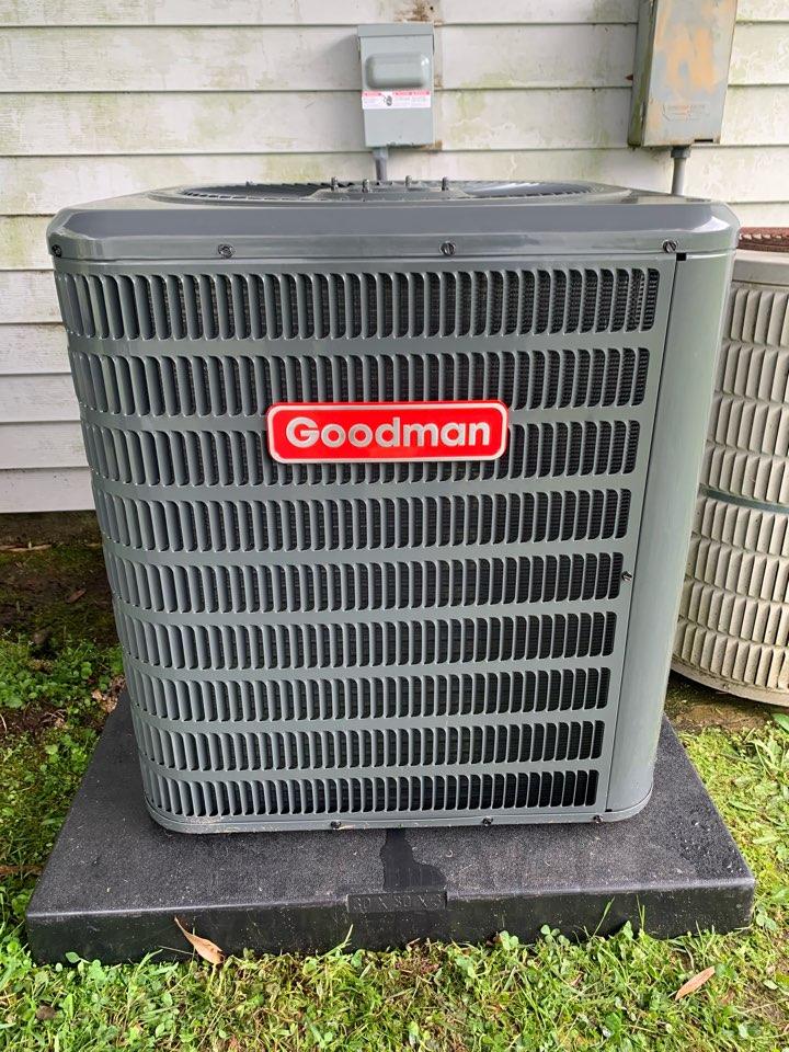 Hammond, LA - Installed condenser