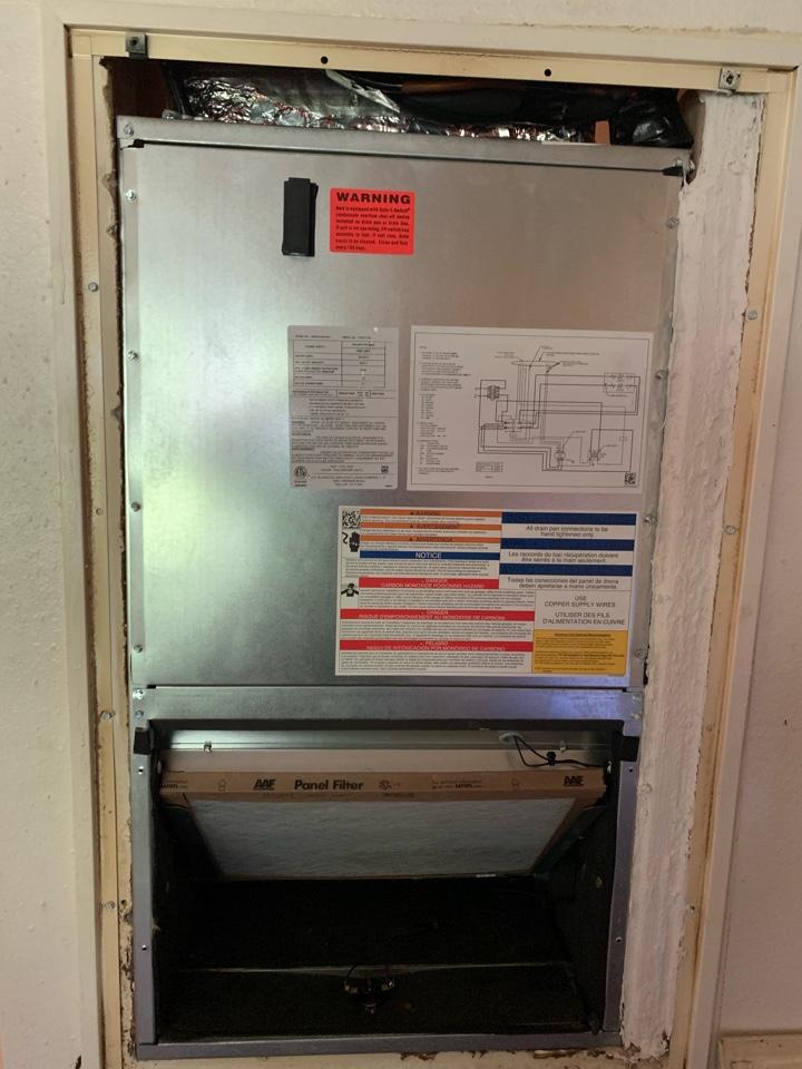 Hammond, LA - Installed apartment system