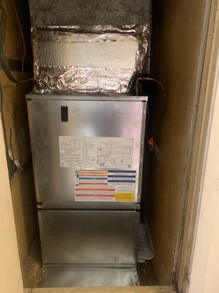 Hammond, LA - Installed air handler
