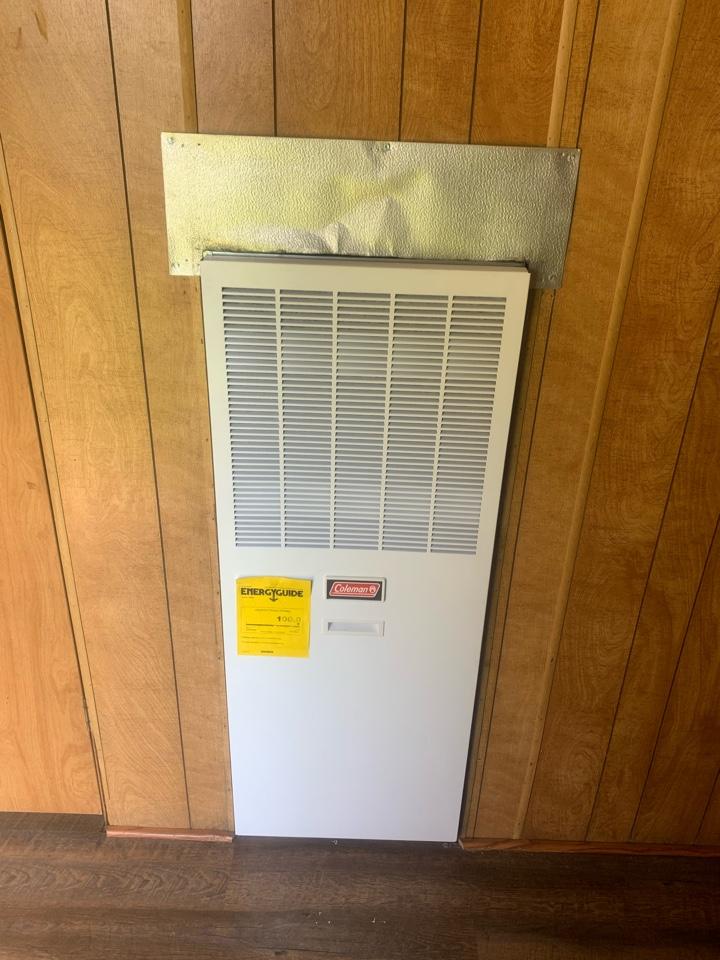 Denham Springs, LA - Installed electric furnace