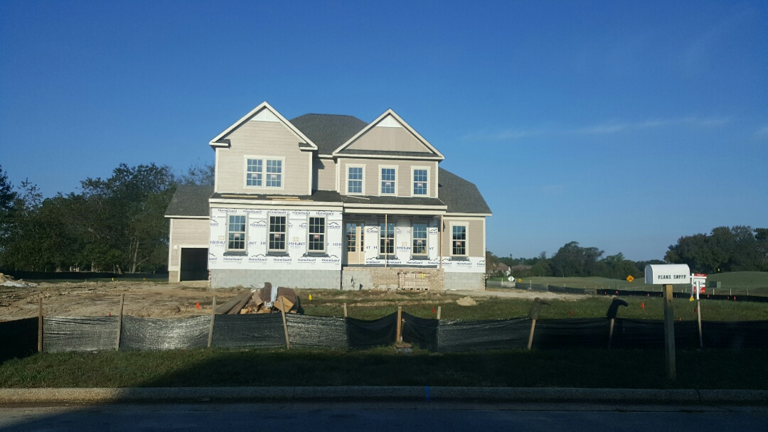 Smithfield, VA - Inspecting a home for 2012 energy compliance. Insulation, air sealing, and other energy star improvements.
