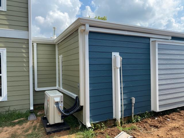 Bowling Green, KY - Line Hide Can Blend In... a New Bryant Ductless unit with three indoor units.  Air Conditioning Bowling Green, KY in 2021!