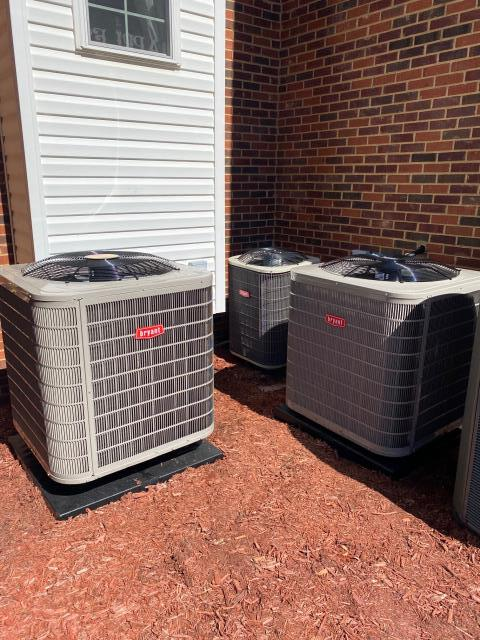 Alvaton, KY - A gaggle of Bryant Air Conditioners and Heat Pumps?  Another new Bryant Heat Pump, this time replacing a Trane air conditioner with a Bryant 127ANA Air Conditioner and 926 Gas Furnace in a basement.  Air Conditioning Alvaton, KY in 2021.