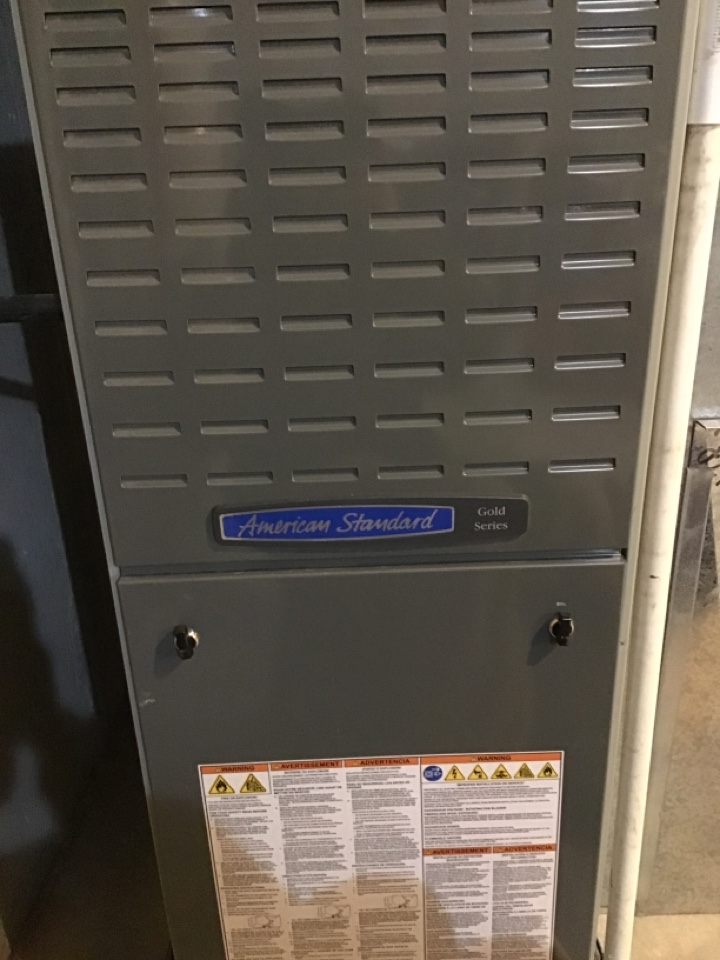 Erie, CO - Service to American Standard furnace