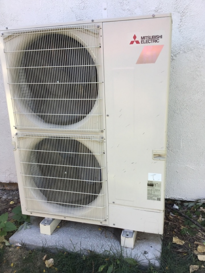 Erie, CO - A/C repair on a  Mitsubishi unit.