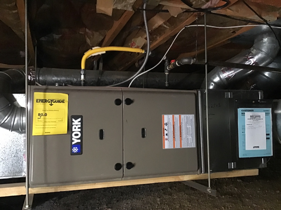 Louisville, CO - Furnace Tuneup on a York unit.