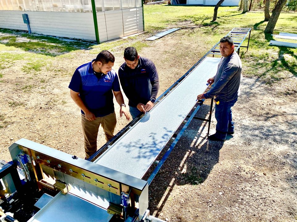 San Antonio, TX - Working on a roof replacement using McElroy metal and the best roofing crew in San Antonio. Contact us to explore different options for your home.