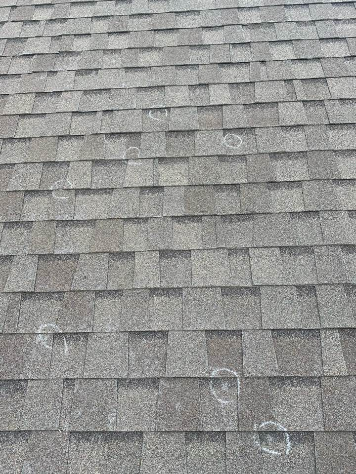 San Antonio, TX - Don't know if you have damage because of the recent storms give us a call for a free inspection no obligation. Local San Antonio roofer here to help the community.