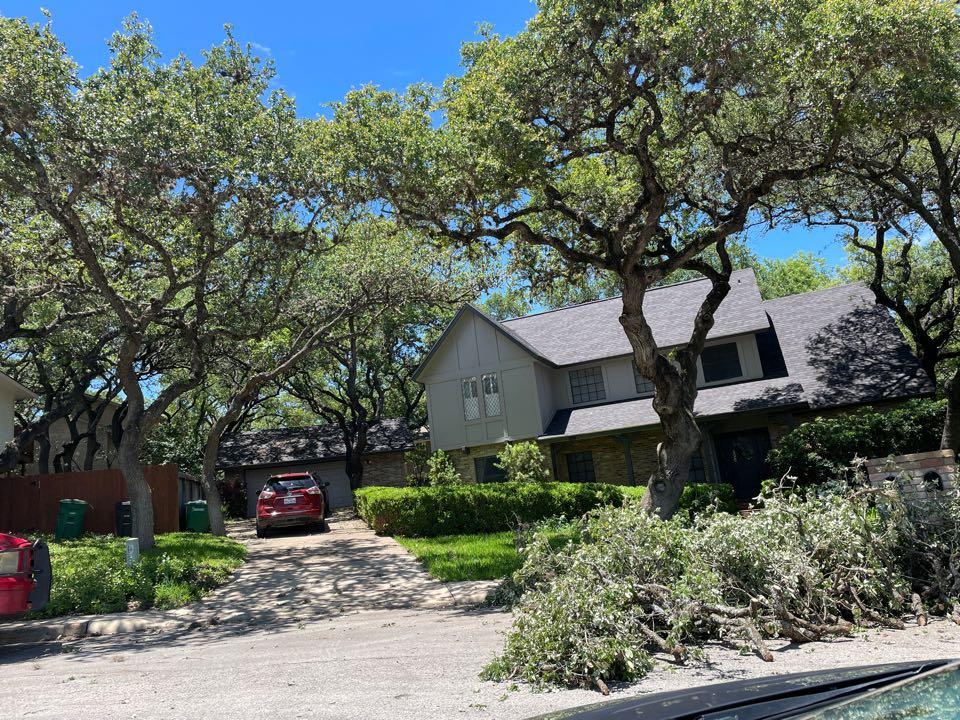 San Antonio, TX - Hail damage? Atrium Roofing in San Antonio Texas