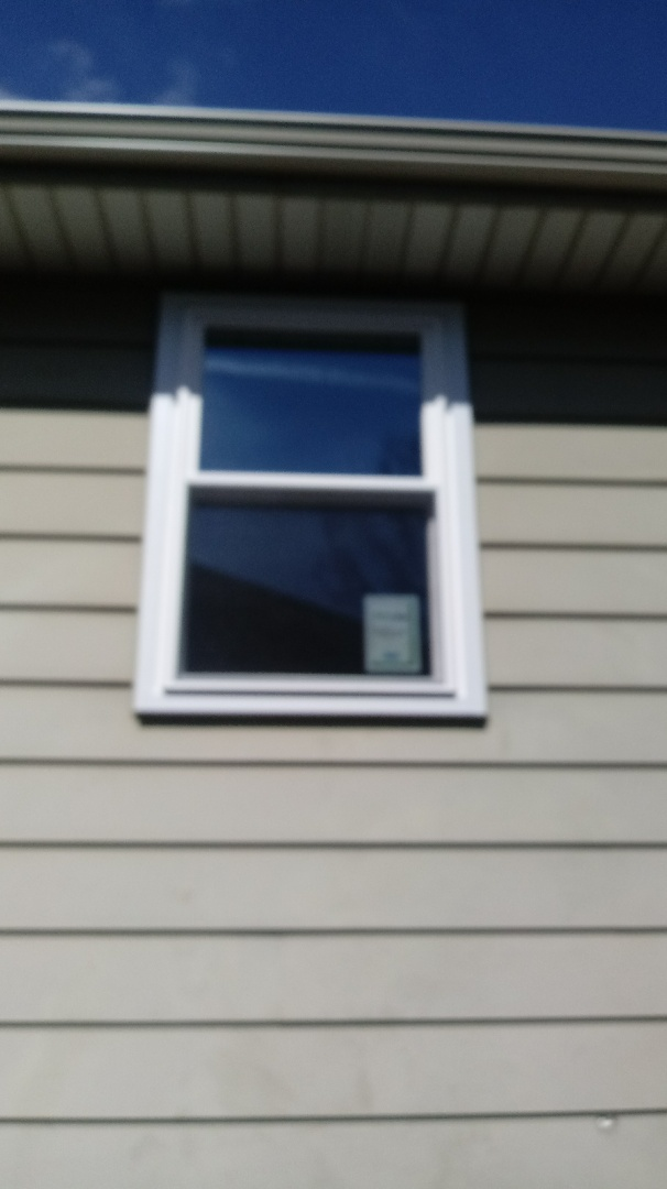 Grand Rapids, MI - Provia vinyl window with aluminum wrap.